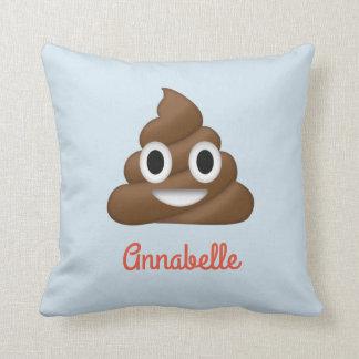 Añada la almohada personalizada nombre de Emoji
