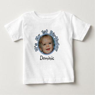 Añada la foto y nombre la 1ra camiseta del