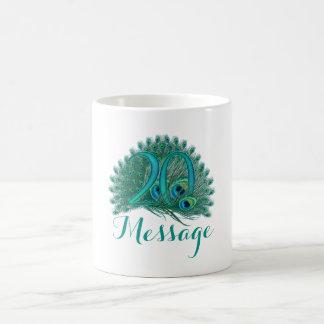 Añada la taza conocida personalizada vigésimo