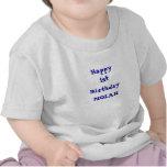 Añada su camisa namePersonalized del feliz cumplea