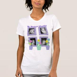 Añada su camiseta de los Grandkids de las fotos