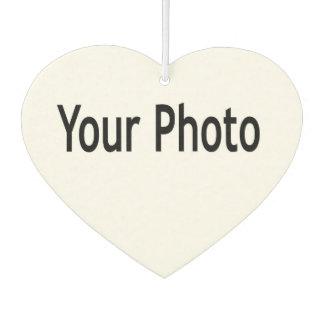 Añada su foto a este ambientador de aire