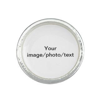 Añada su foto o dibujo preferido, y/o el texto anillos