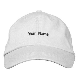 Añada su gorra conocido