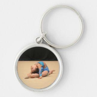 Añada su llavero personalizado foto de la gimnasia