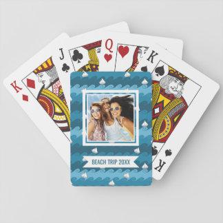 Añada su modelo el | de papel conocido de los baraja de cartas