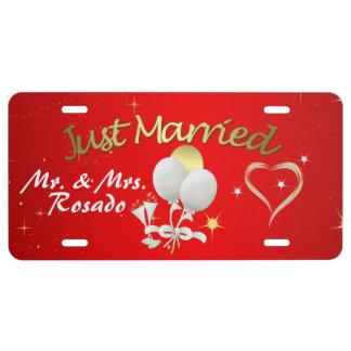 Añada su placa conocida casada