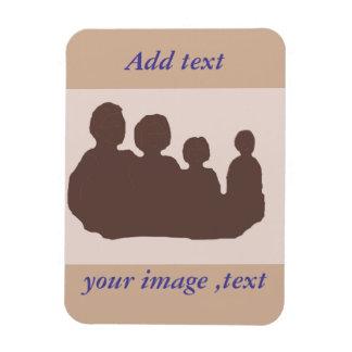 Añada su propia imagen, foto y palabras imanes