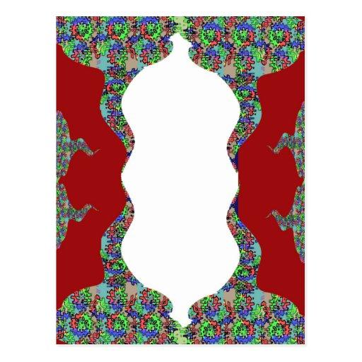 Añada su texto - beso oriental mi diseño de los la tarjeta postal