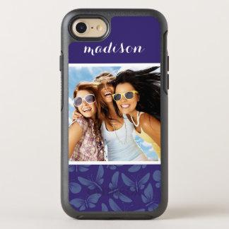 Añada sus mariposas de la púrpura de la foto el | funda OtterBox symmetry para iPhone 7