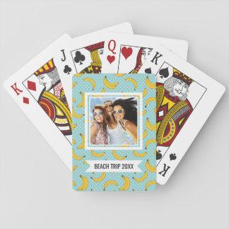 Añada sus plátanos del | y puntos conocidos de baraja de cartas