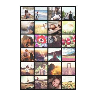 Añada sus propias imágenes lienzo