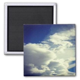 Añada una foto cuadrada imán cuadrado