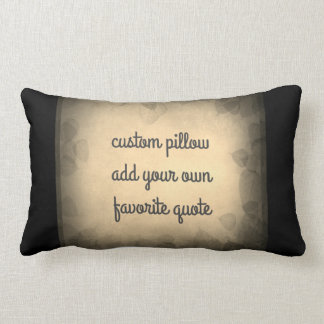 añada una sepia de la almohada de la cita y un