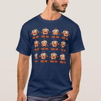 ¡Añádame! Con el logotipo Camiseta