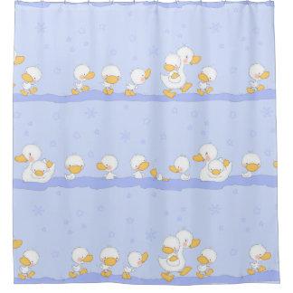 Anadones felices cortina de baño