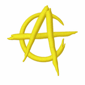 Anarcho capitalism logo polo bordado