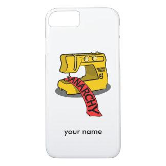 Anarquía de costura zazzle.png funda iPhone 7