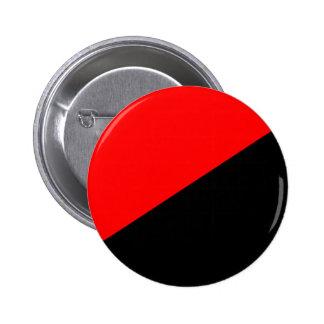 Anarquista, bandera política de Colombia Chapa Redonda 5 Cm