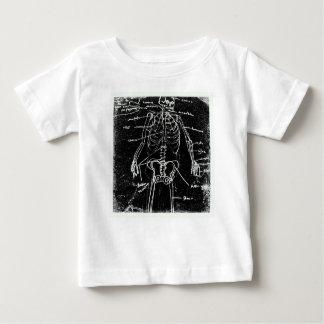 anatomía esquelética humana de Tokio del yaie Camiseta De Bebé