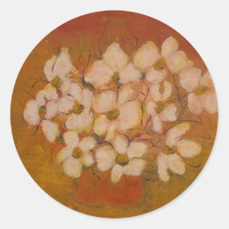 Anca Sofía Flores de Mariposa Pegatinas