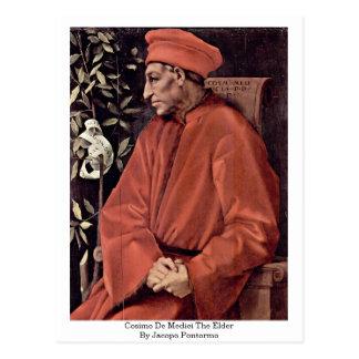 Anciano de Cosimo De Medici The de Jacopo Pontormo Postales