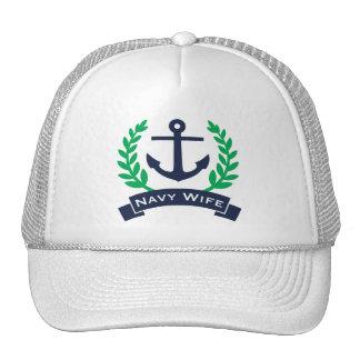 Ancla de la esposa de la marina de guerra gorro
