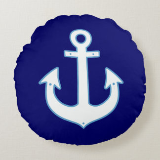 ancla náutica cojín redondo