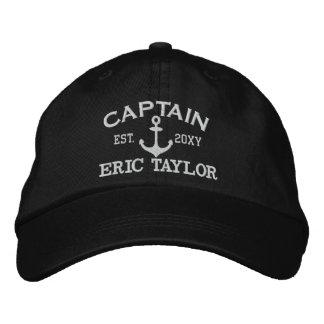 Ancla personalizada náutica gorra de beisbol