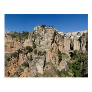 Andalucía - garganta de la postal de Ronda