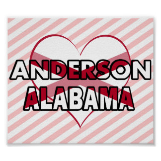 Anderson Alabama Posters