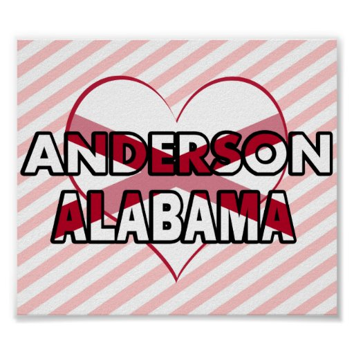 Anderson, Alabama Posters