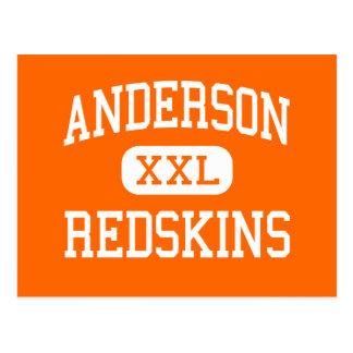 Anderson - pieles rojas - alta - Cincinnati Ohio Postal