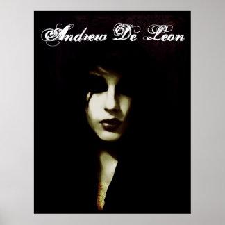 Andrew De León - poster del empeine Póster