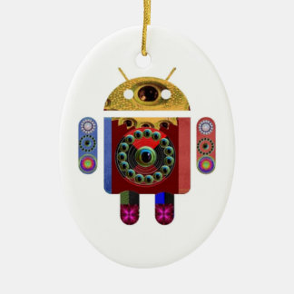 ANDROIDE de Navin Joshi Ornamentos De Navidad