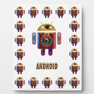 ANDROIDE - el personalizar substituye imagen del c Placa De Madera