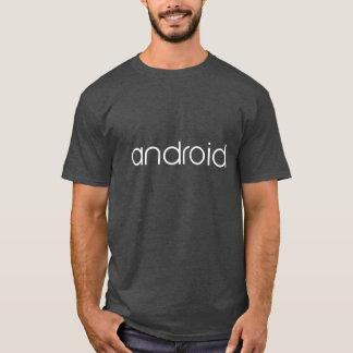 Androide oficial camiseta