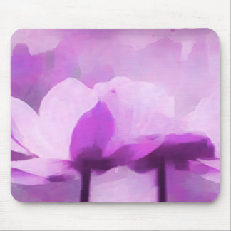 Anémona púrpura alfombrilla de ratón