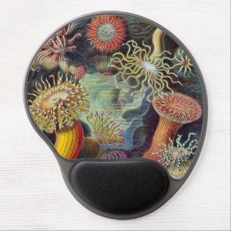 Anémonas de mar subacuáticas del vintage de Ernst Alfombrilla De Ratón De Gel
