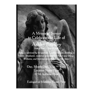 Ángel -1 - Invitación del entierro de la ceremonia