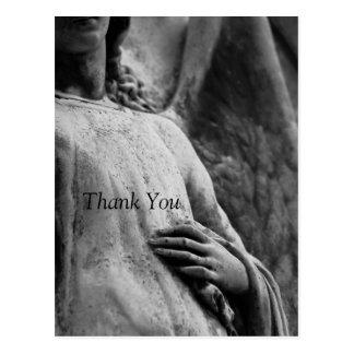 Ángel -3 - La condolencia conmemorativa cristiana Postal