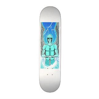 Ángel azul patines