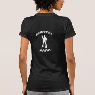Ángel/camisa de la mafia camiseta