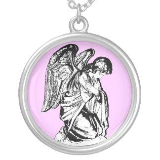 ángel colgante redondo