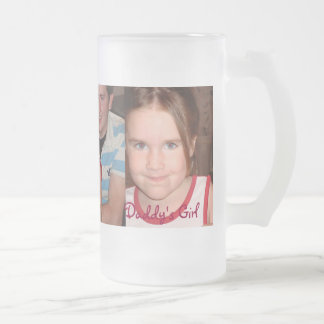 Ángel de Chloe - modificado para requisitos Taza De Cristal Esmerilado