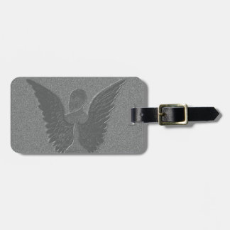 Ángel de guarda etiqueta para maletas