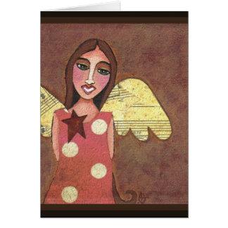 ÁNGEL de GUARDA - tarjeta de felicitación