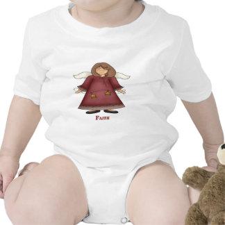 Ángel de la fe camiseta