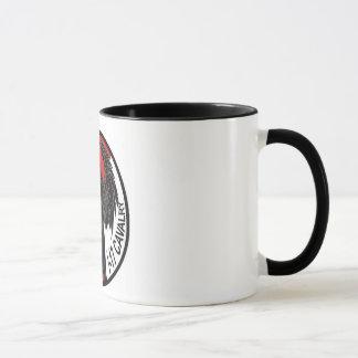 Ángel de la oscuridad de la taza de café