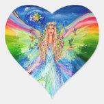 Ángel de la paz colcomanias de corazon